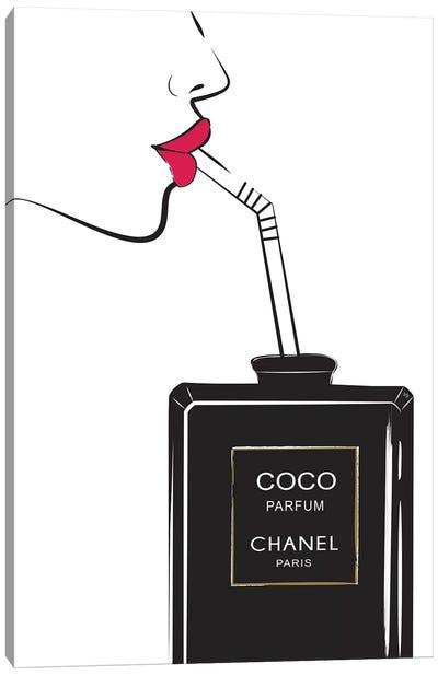 Chanel Drink I Canvas Art Print