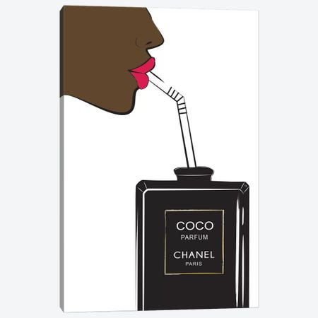 Chanel Drink II Canvas Print #PAV119} by Martina Pavlova Canvas Print