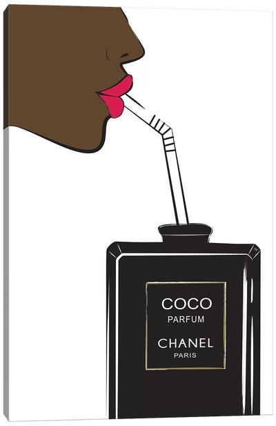 Chanel Drink II Canvas Art Print