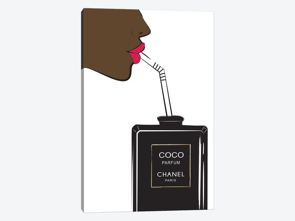 Chanel Drink II by Martina Pavlova 1-piece Art Print