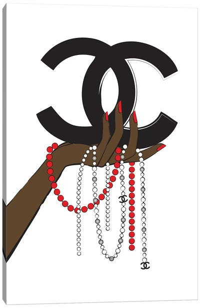 Chanel Jewelry II Canvas Art Print