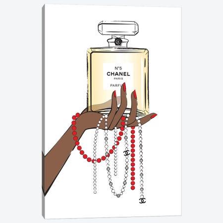 Holding Chanel II Canvas Print #PAV142} by Martina Pavlova Canvas Wall Art