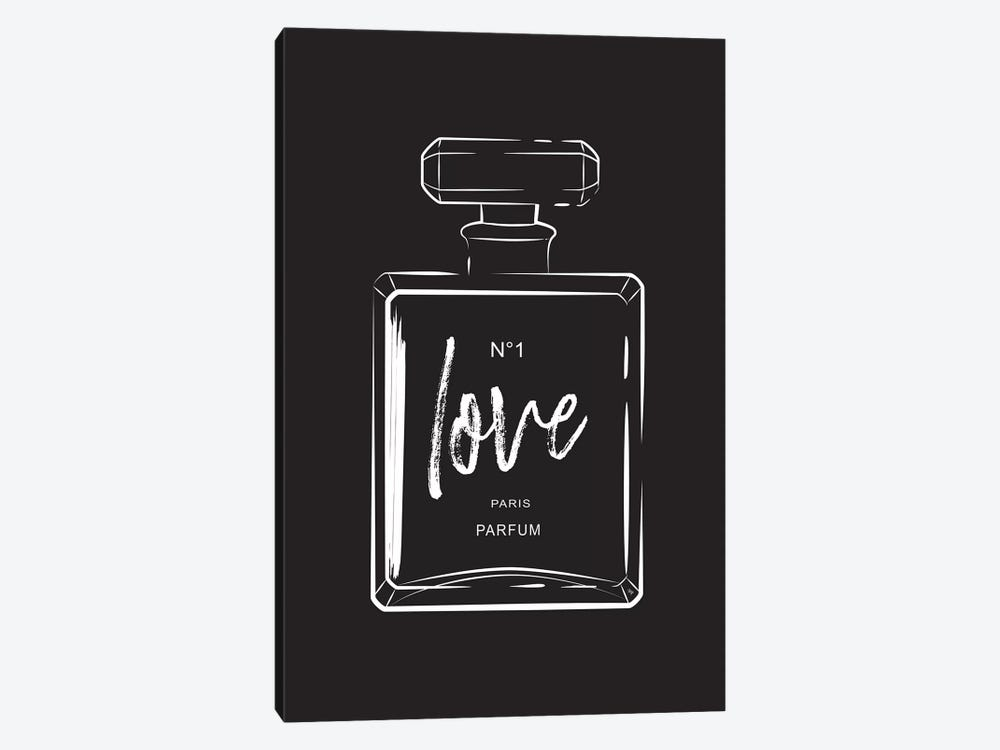 Love Perfume by Martina Pavlova 1-piece Canvas Artwork