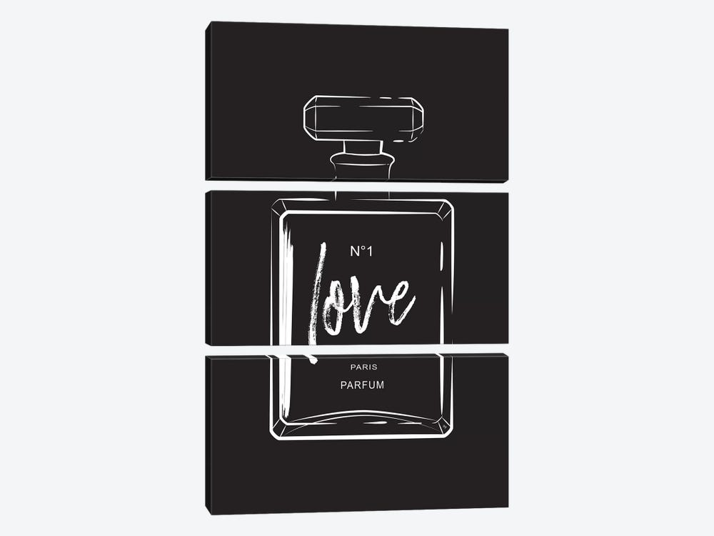 Love Perfume by Martina Pavlova 3-piece Canvas Art