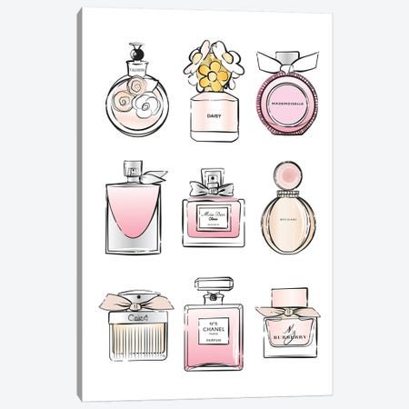 Perfumes Canvas Print #PAV147} by Martina Pavlova Canvas Print