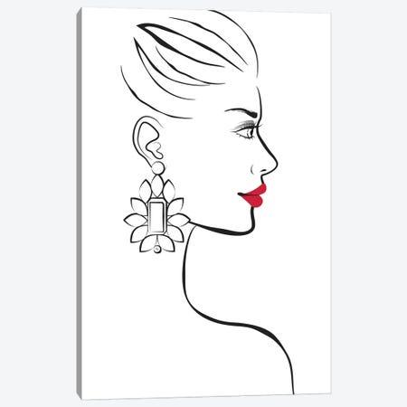 Profile Canvas Print #PAV148} by Martina Pavlova Canvas Artwork
