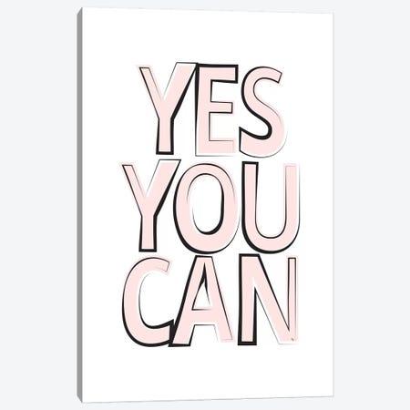 Yes Canvas Print #PAV153} by Martina Pavlova Art Print