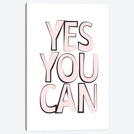 Yes Canvas Print #PAV153} by Martina Pavlova Art Print