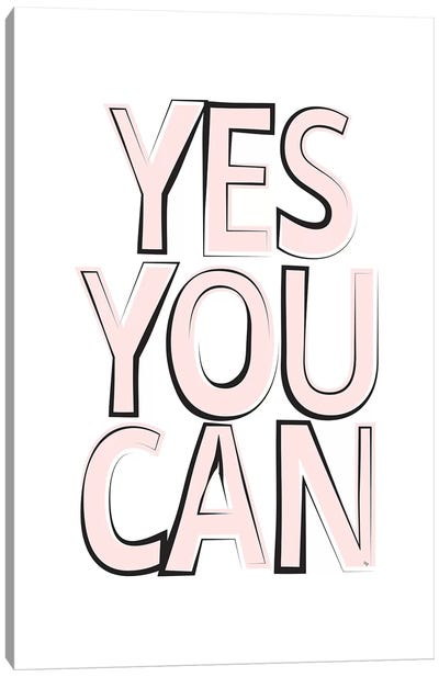 Yes Canvas Art Print