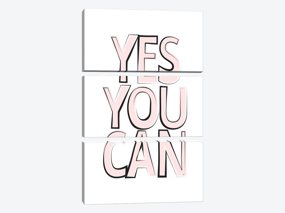 Yes by Martina Pavlova 3-piece Canvas Print