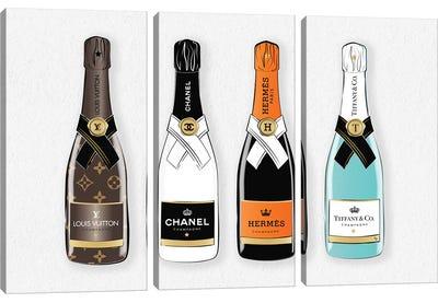 Branded Drinks Canvas Art Print
