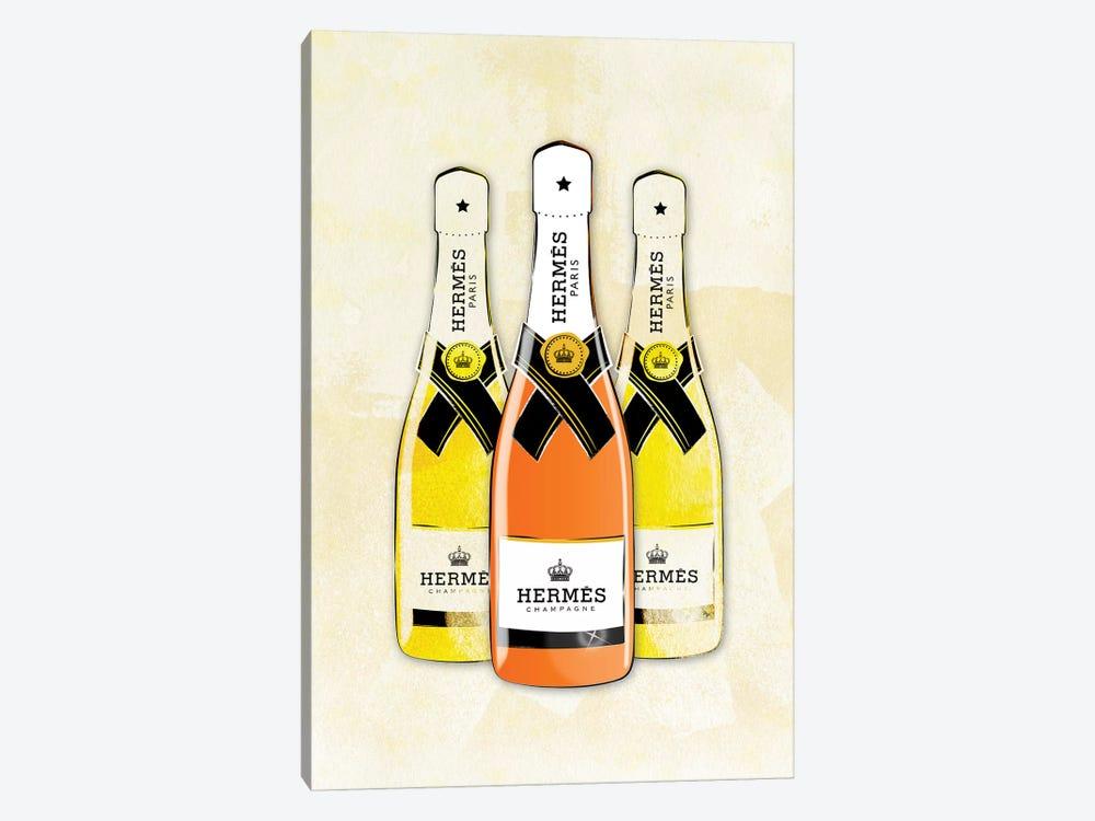 Hermes Champagne by Martina Pavlova 1-piece Canvas Artwork