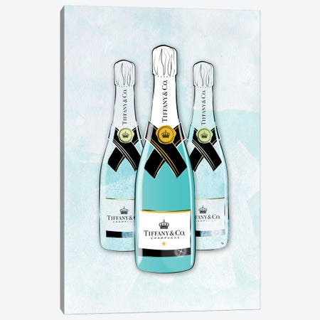 Tiffany Champagne Canvas Print #PAV166} by Martina Pavlova Canvas Art Print