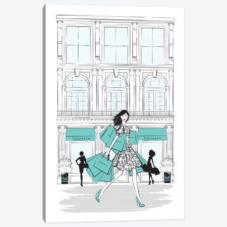 Tiffany Shop New York Canvas Print #PAV172} by Martina Pavlova Canvas Print