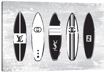 Designer Surfs Canvas Art Print