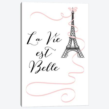Eiffel Quote 3-Piece Canvas #PAV226} by Martina Pavlova Canvas Art