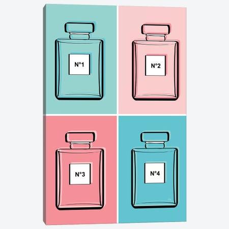Pastel Perfumes Canvas Print #PAV248} by Martina Pavlova Canvas Art Print