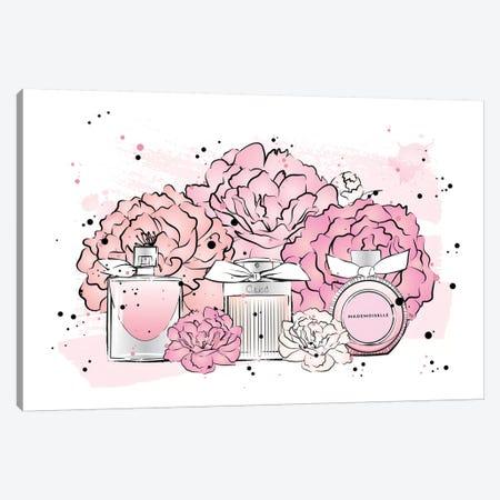 Peony Perfumes Canvas Print #PAV250} by Martina Pavlova Canvas Artwork