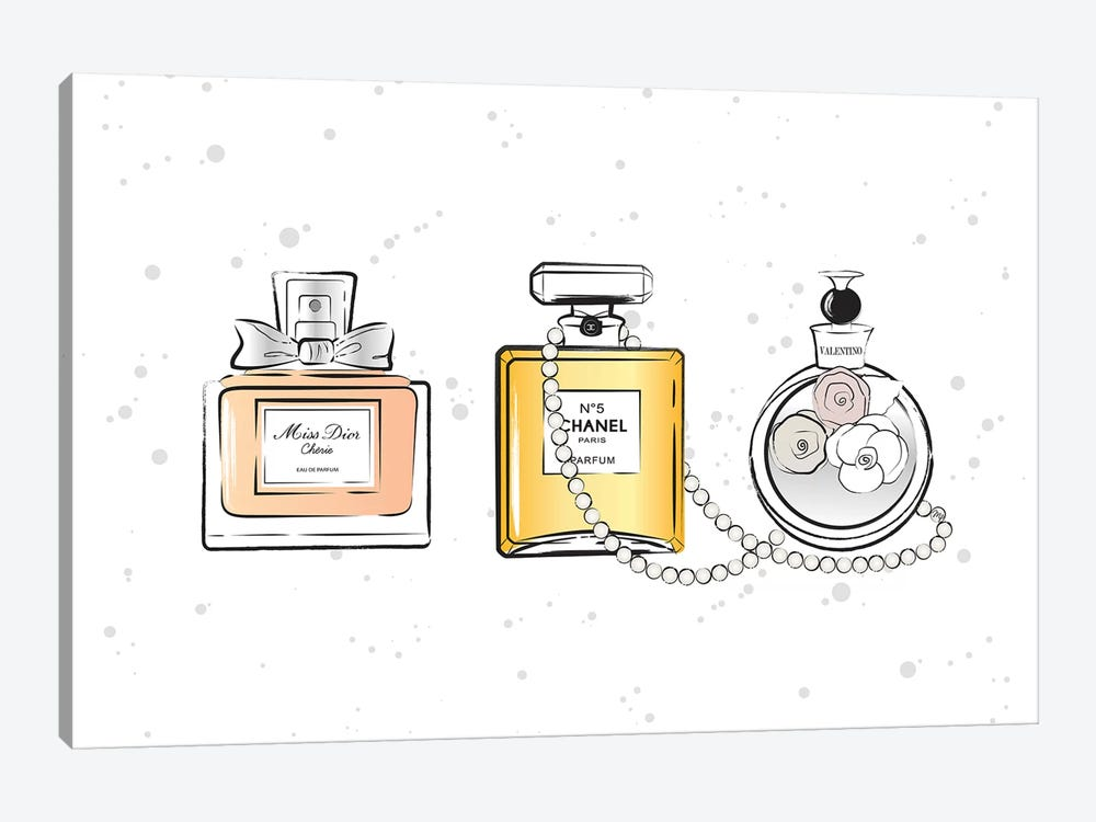 Perfumes by Martina Pavlova 1-piece Canvas Print