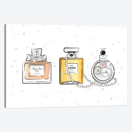 Perfumes Canvas Print #PAV251} by Martina Pavlova Canvas Art