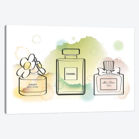 Water Perfume Canvas Print #PAV264} by Martina Pavlova Canvas Art
