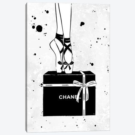Chanel Ballerina Canvas Print #PAV296} by Martina Pavlova Art Print