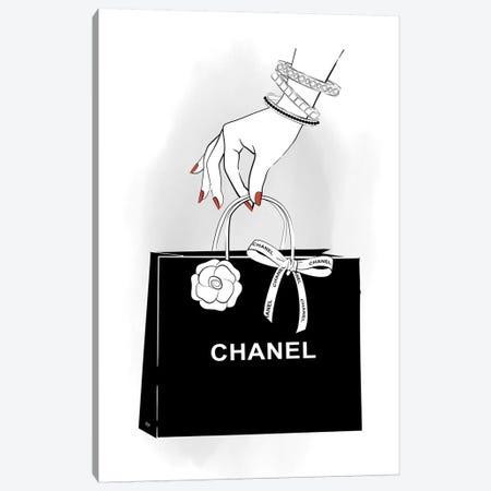Chanel Hand Canvas Print #PAV305} by Martina Pavlova Canvas Art Print
