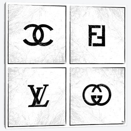Logos Canvas Print #PAV31} by Martina Pavlova Canvas Art Print