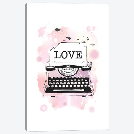 Love Canvas Print #PAV32} by Martina Pavlova Canvas Art Print