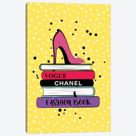 Fashion Books Canvas Print #PAV367} by Martina Pavlova Canvas Art Print