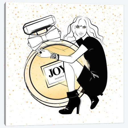 Joy Perfume Canvas Print #PAV369} by Martina Pavlova Canvas Art