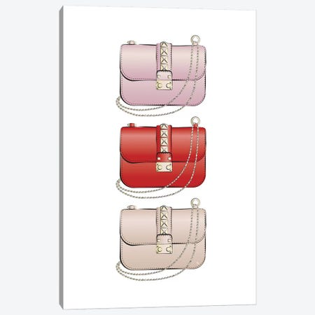 Valentino Bags Canvas Print #PAV409} by Martina Pavlova Canvas Art Print
