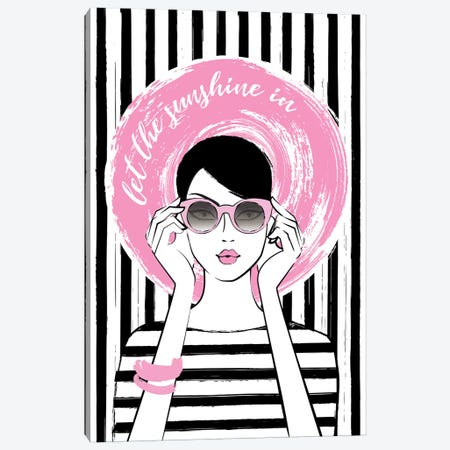 Sunshine Girl I Canvas Print #PAV42} by Martina Pavlova Canvas Artwork