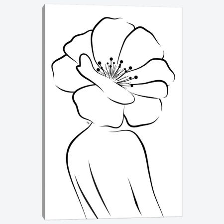 Flower Head Canvas Print #PAV435} by Martina Pavlova Canvas Print