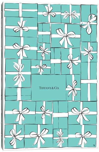Tiffany Boxes Canvas Art Print