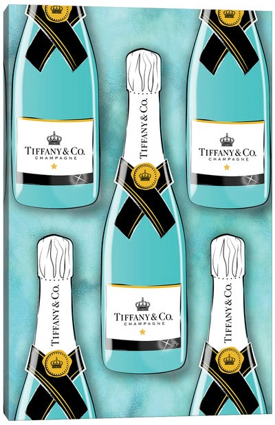 Tiffany Bottles Canvas Art Print