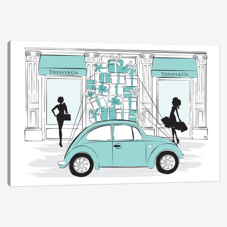 Tiffany Car Canvas Print #PAV44} by Martina Pavlova Canvas Art Print
