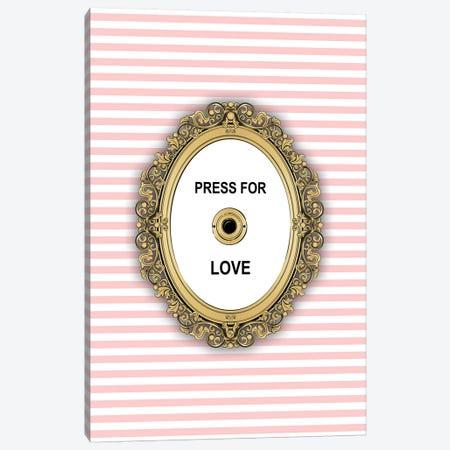 Love Button Canvas Print #PAV451} by Martina Pavlova Canvas Art