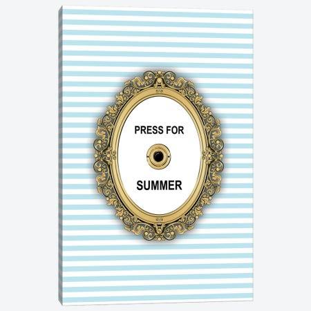 Summer Button Canvas Print #PAV452} by Martina Pavlova Canvas Art