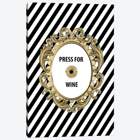 Wine Button Canvas Print #PAV458} by Martina Pavlova Canvas Wall Art
