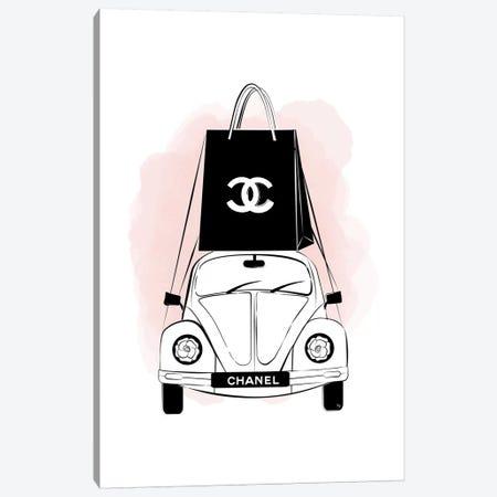 Chanel Car Canvas Print #PAV473} by Martina Pavlova Canvas Art