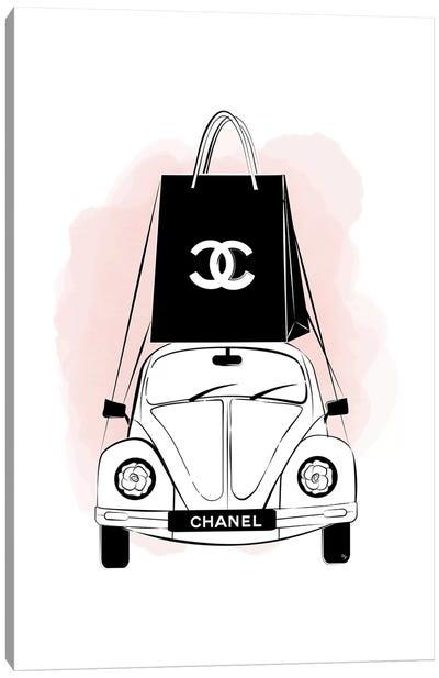 Chanel Car Canvas Art Print