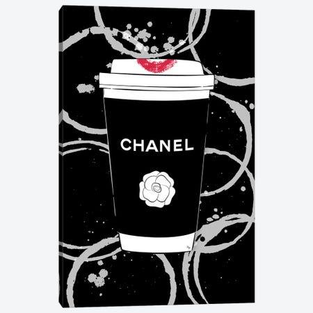 Chanel Coffee Canvas Print #PAV474} by Martina Pavlova Canvas Art Print