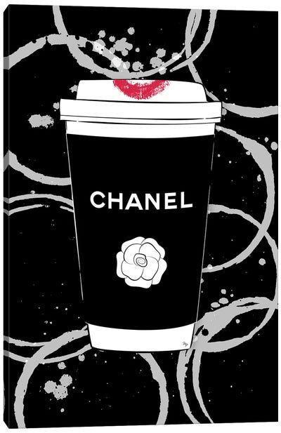 Chanel Coffee Canvas Art Print