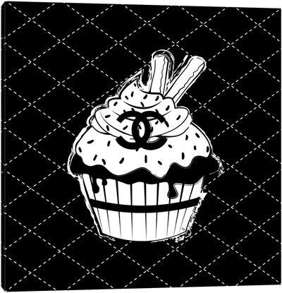 Chanel Cupcake Canvas Art Print