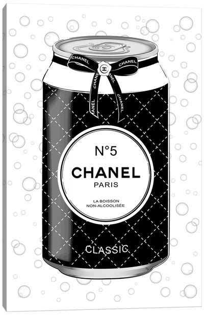 Chanel Drink Canvas Art Print