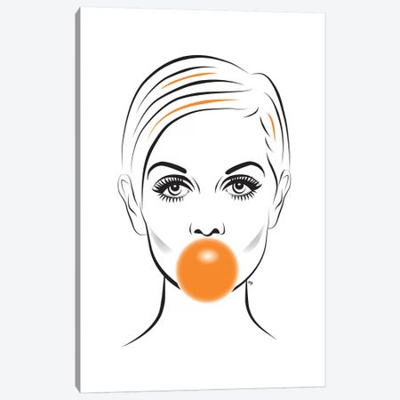 Twiggy Canvas Print #PAV47} by Martina Pavlova Art Print