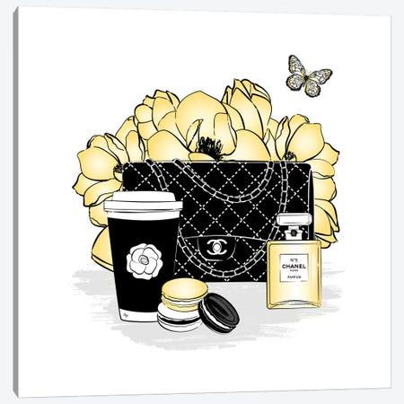 Chanel Set Canvas Print #PAV486} by Martina Pavlova Canvas Wall Art