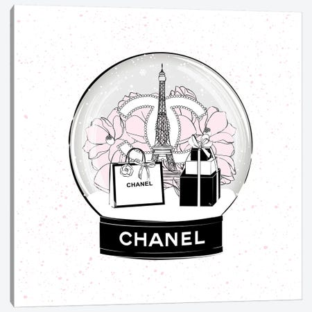 Chanel Snow Ball Canvas Print #PAV487} by Martina Pavlova Canvas Wall Art