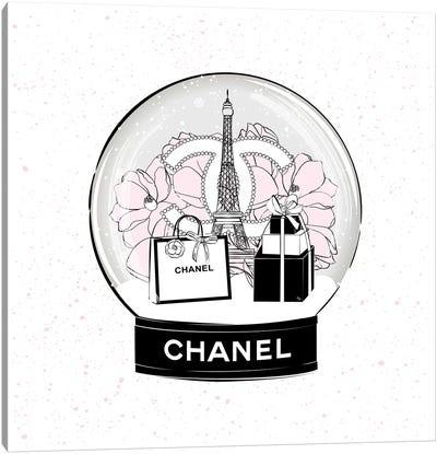 Chanel Snow Ball Canvas Art Print